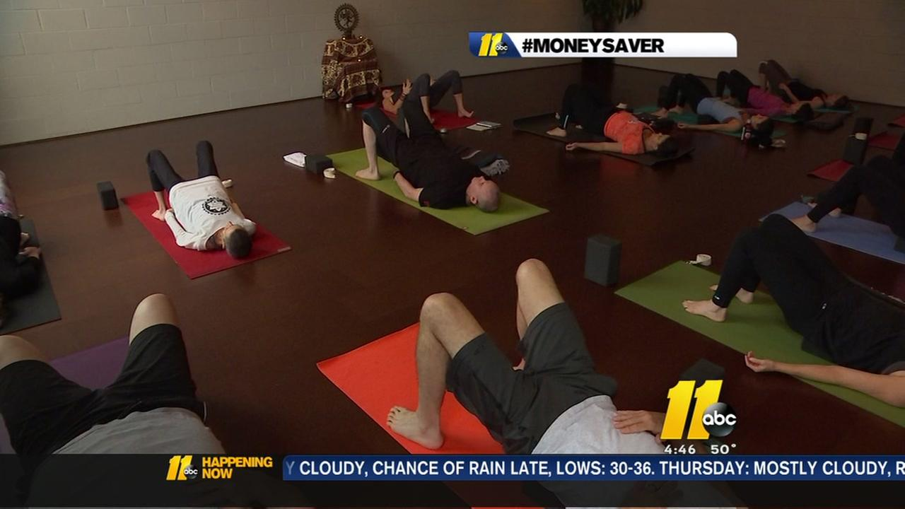 Free yoga for the military