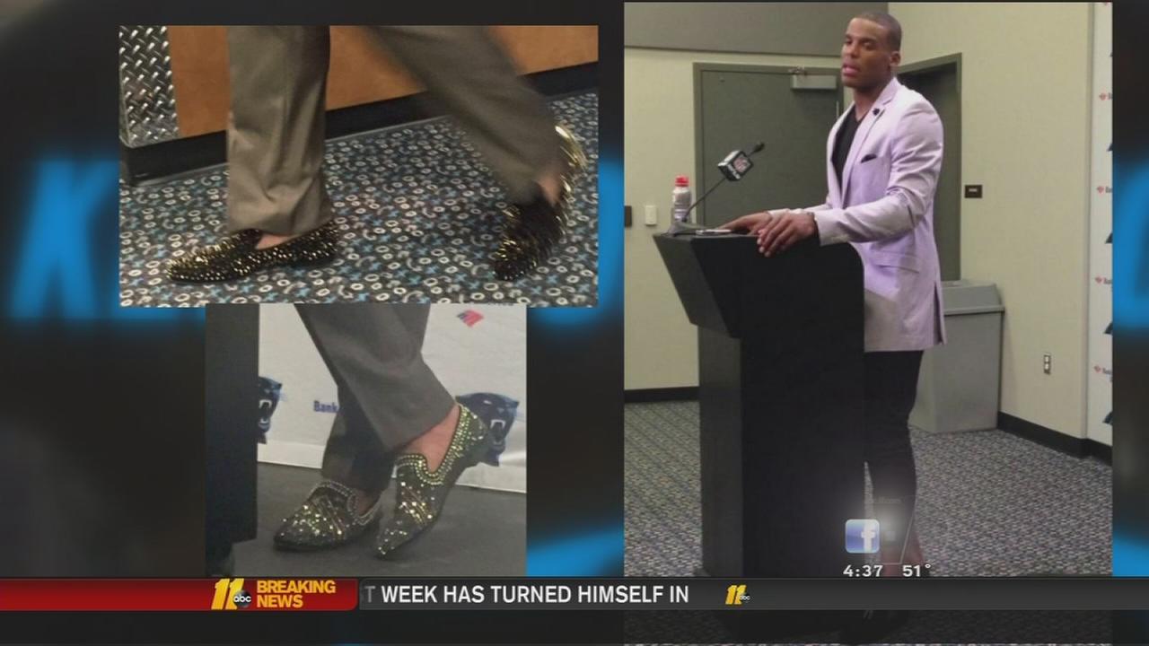 Cam Newton is Fashion Forward