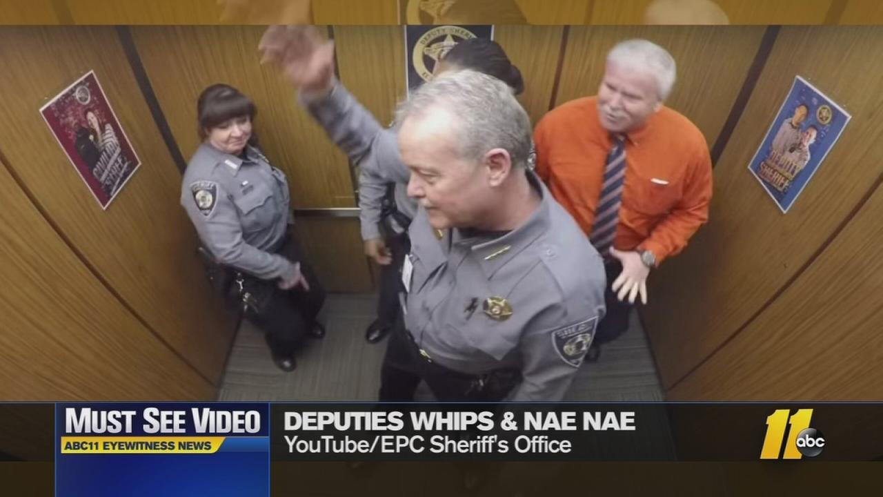 Deputies show their funny side