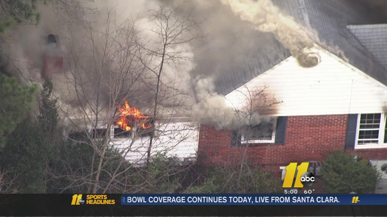 Brooks Avenue fire
