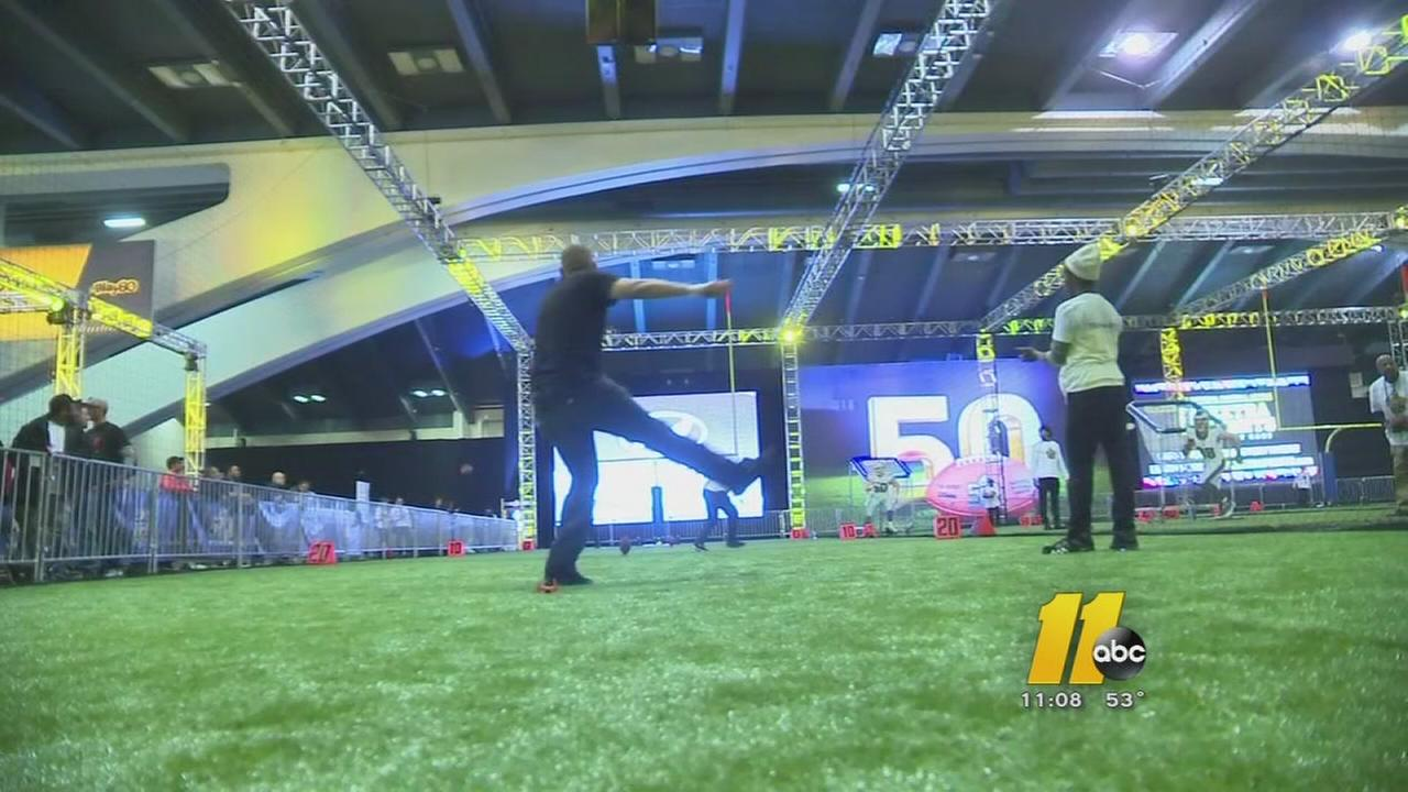 Super Bowl 50: The NFL experience