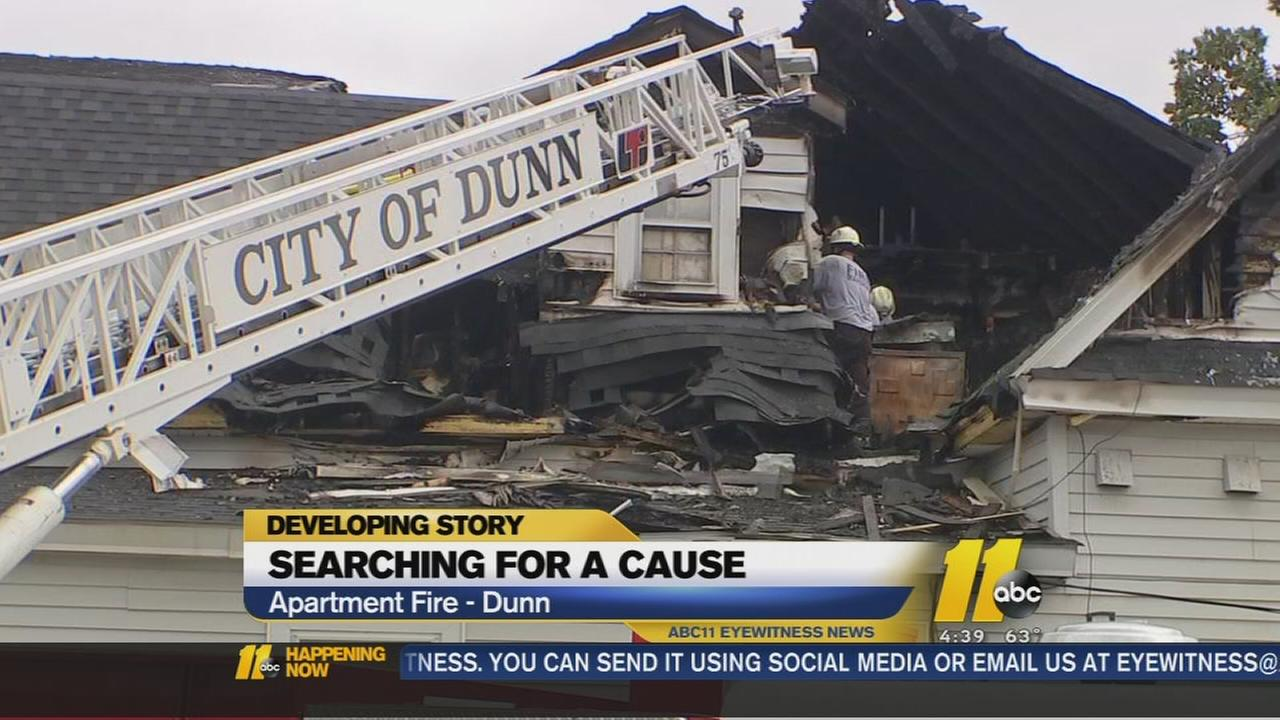 Fire in Dunn displaces 9