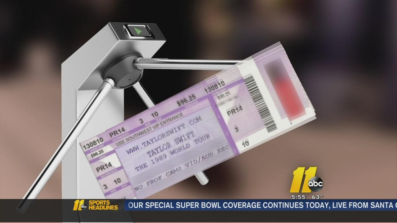 Beware of fake concert tickets
