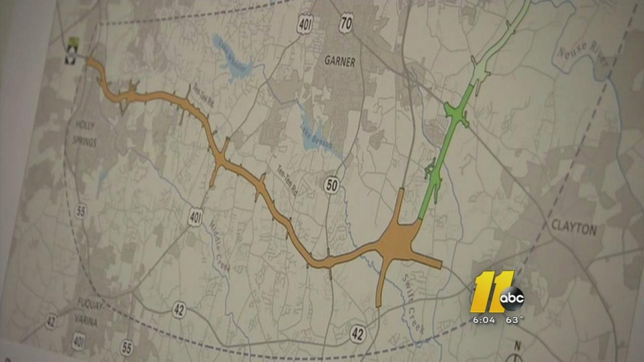 Proposed route to complete 540