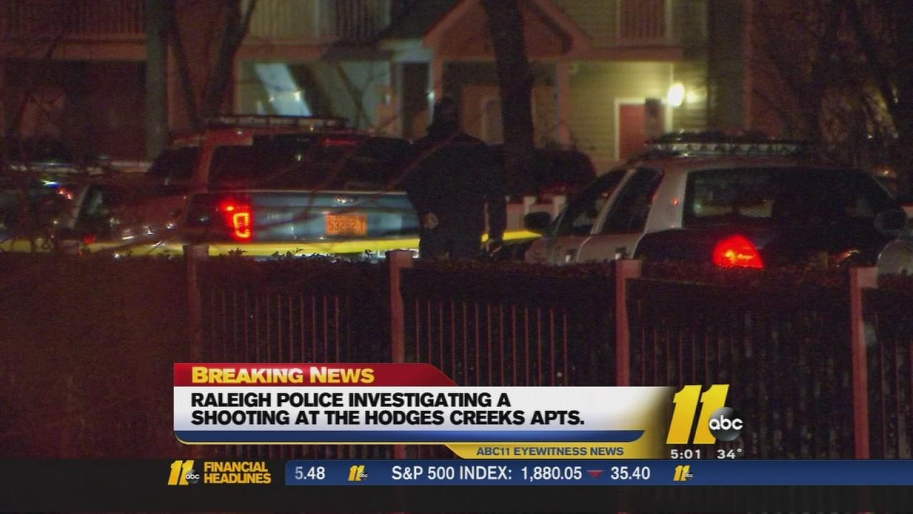Raleigh police investigating shooting