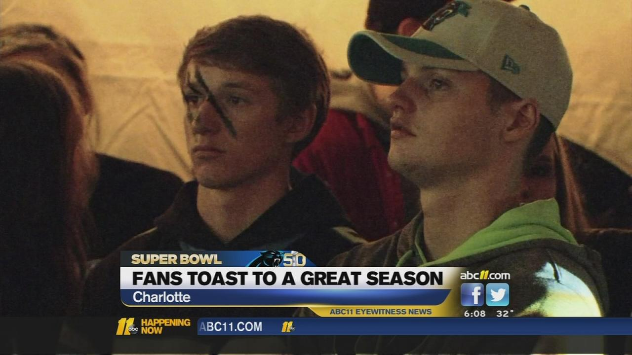 Disappointed Panthers fans still toast to great season