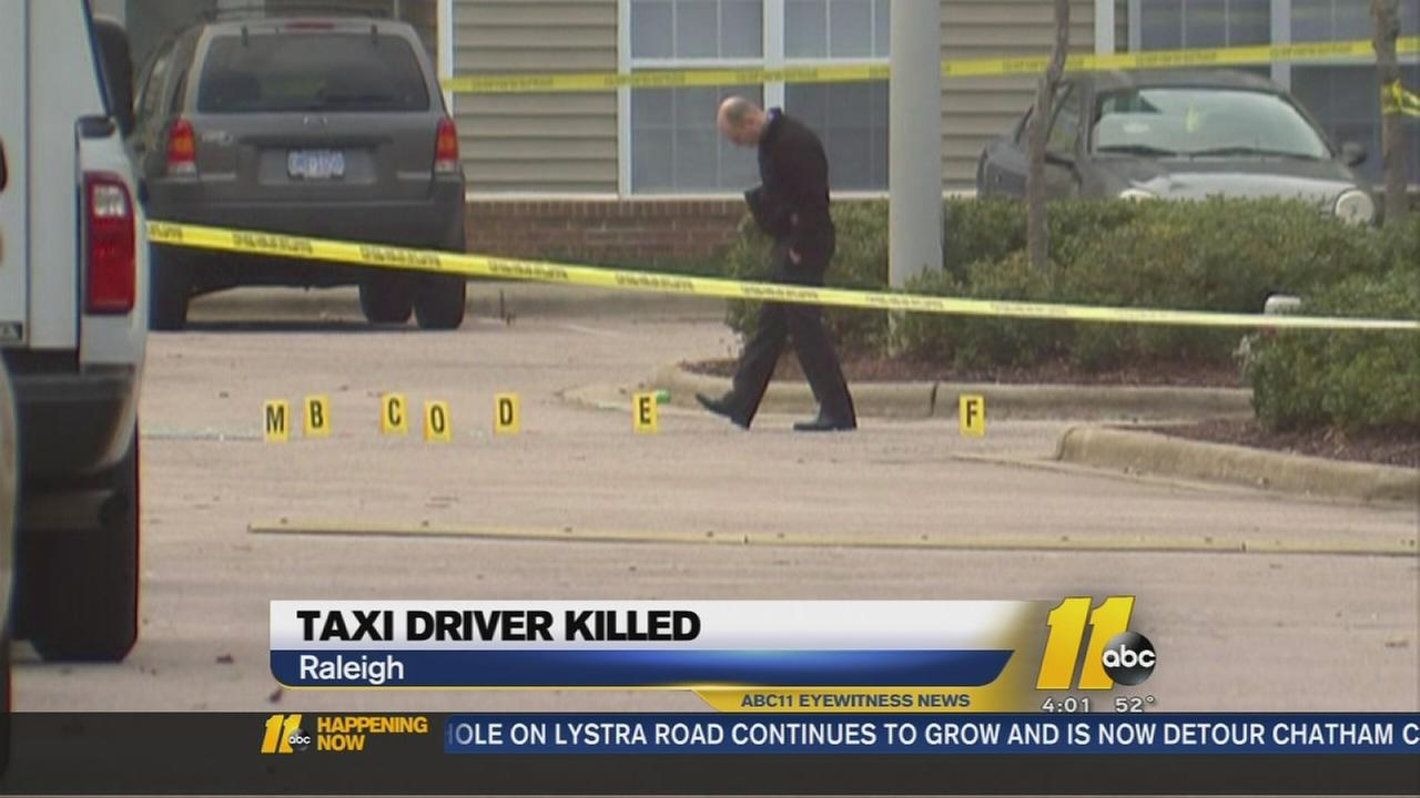 Taxi driver killed