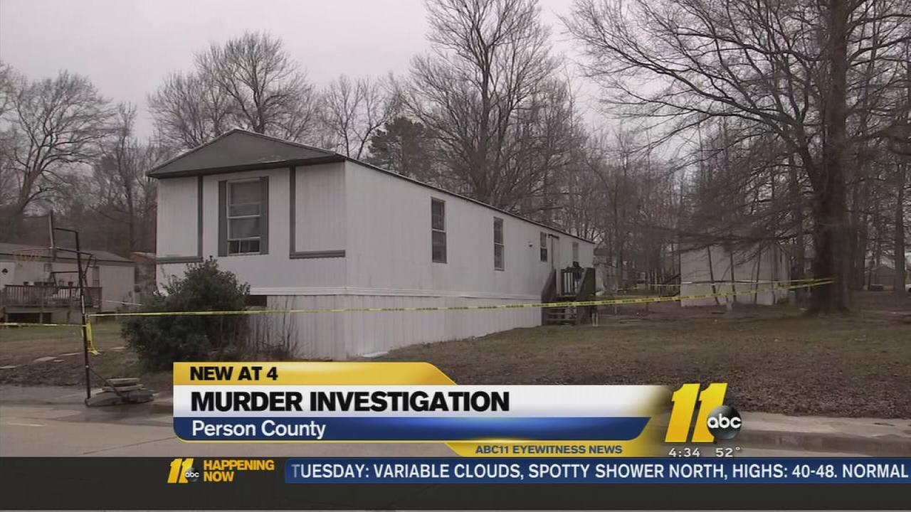 Person County murder