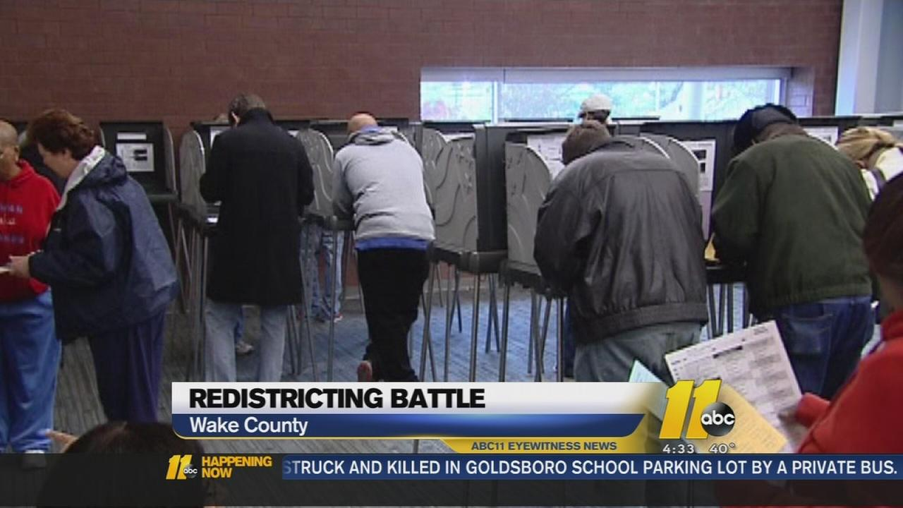 Redistricting fight