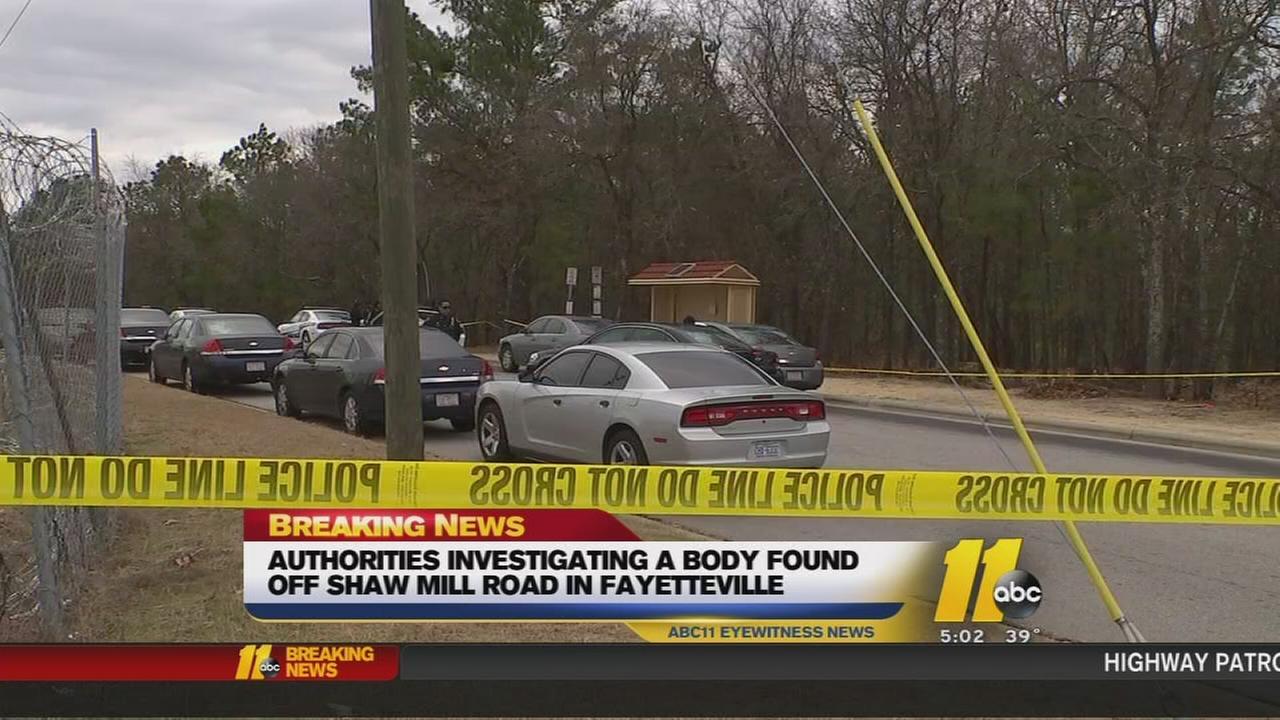 Body found in Fayetteville