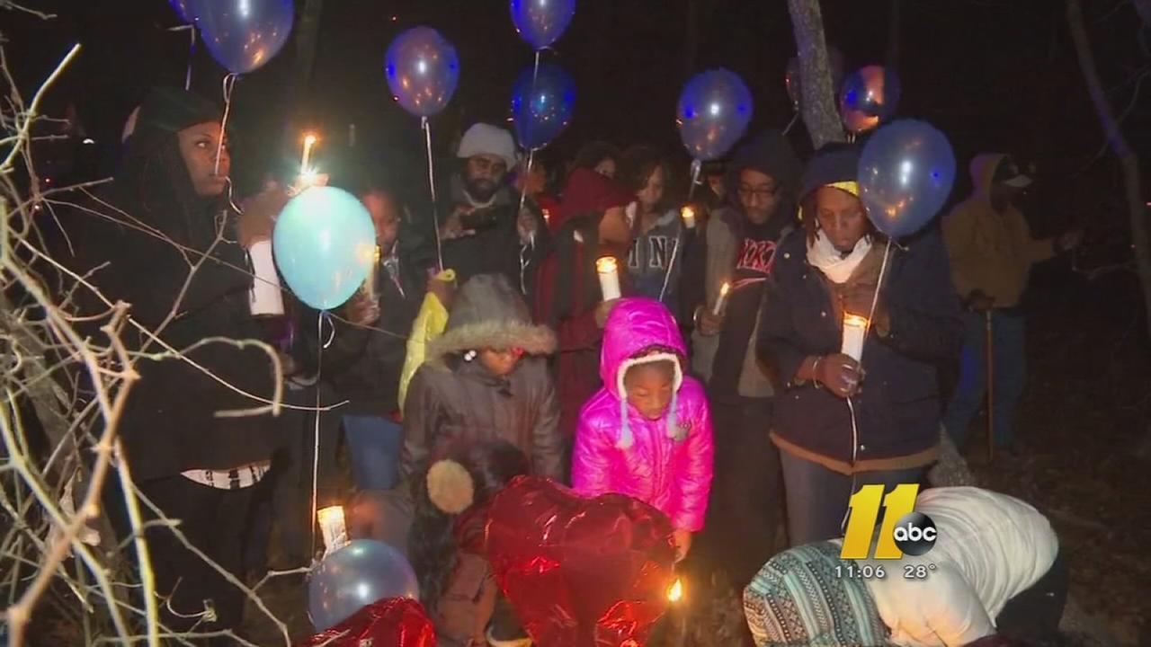 Vigil for Fayetteville man