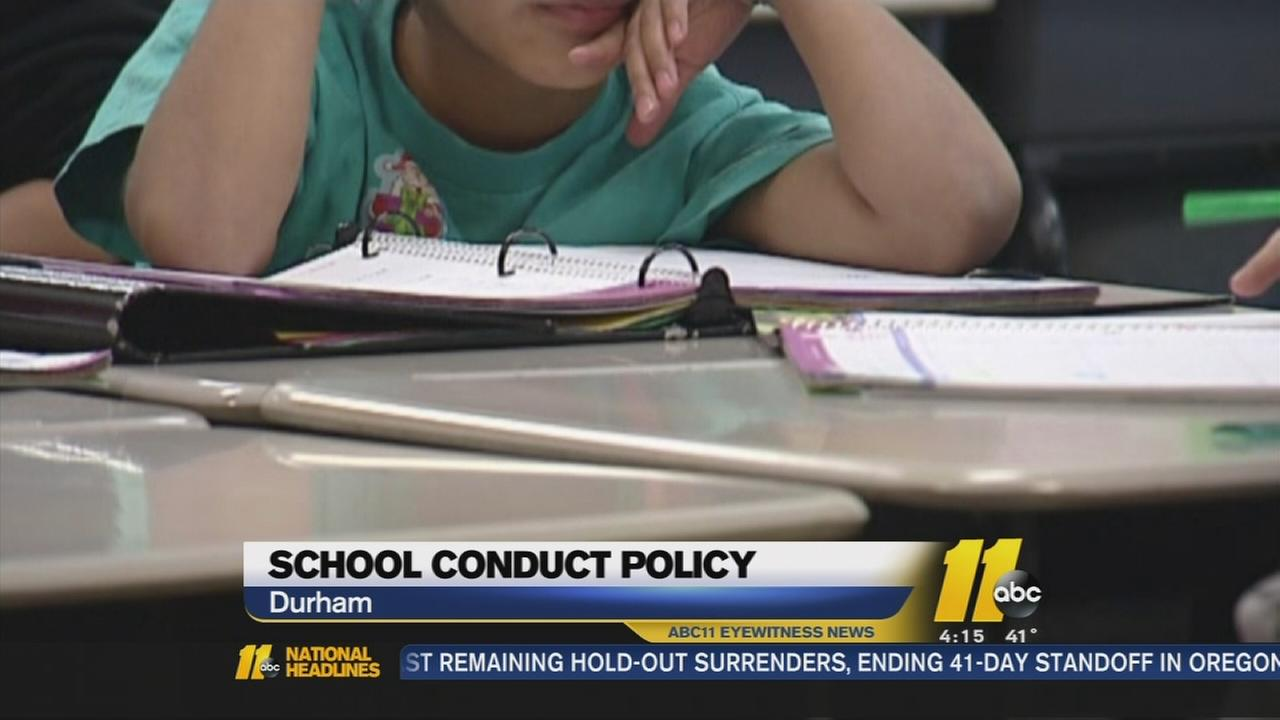 DPS school conduct policy review