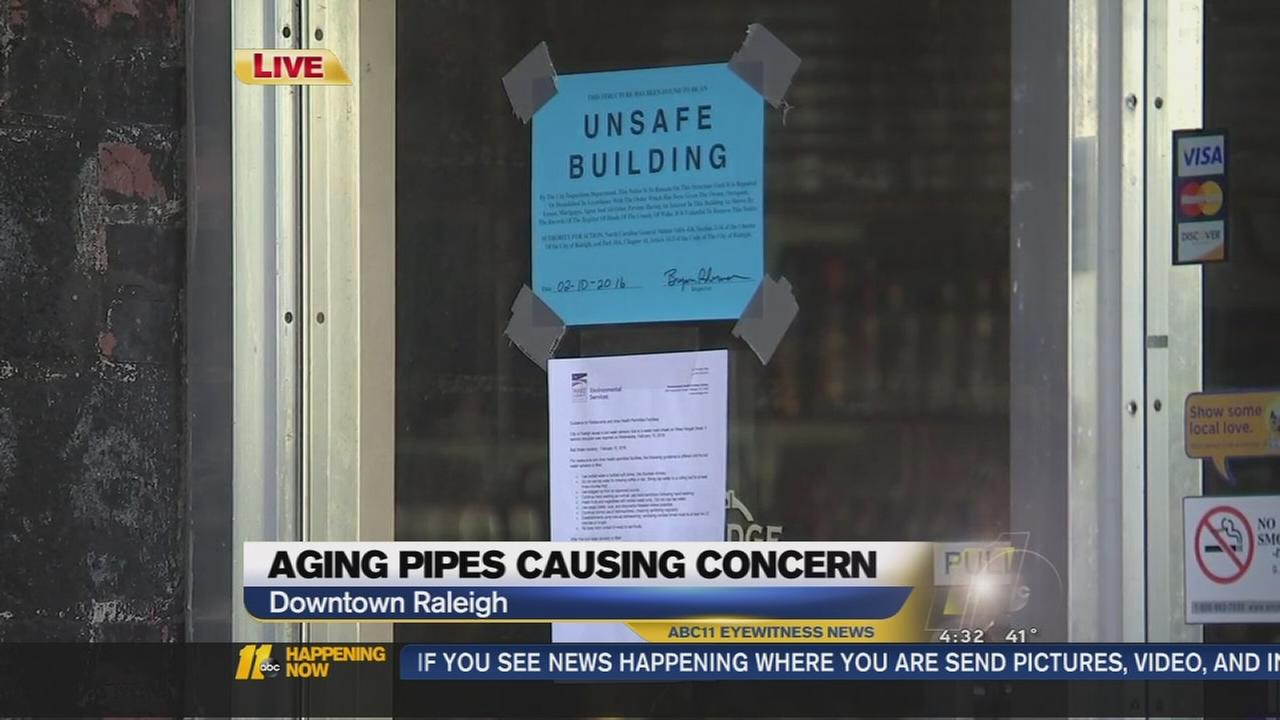 Pipes bursting