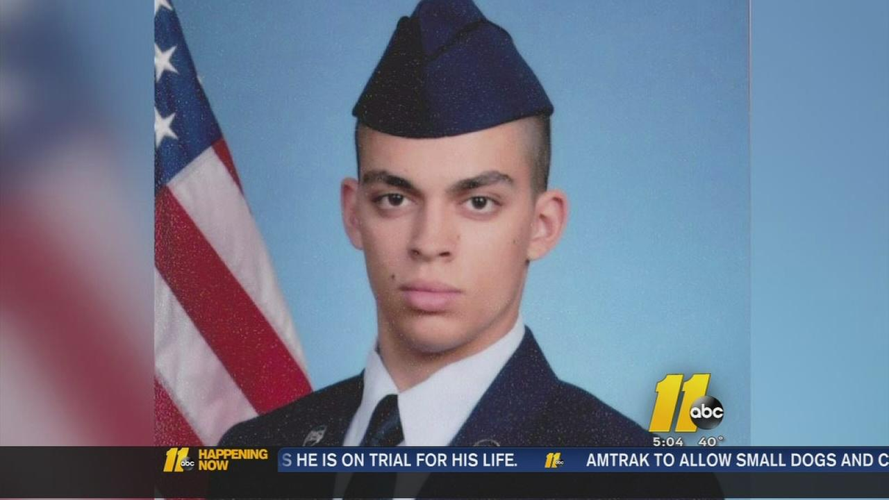 Family searching for missing airman