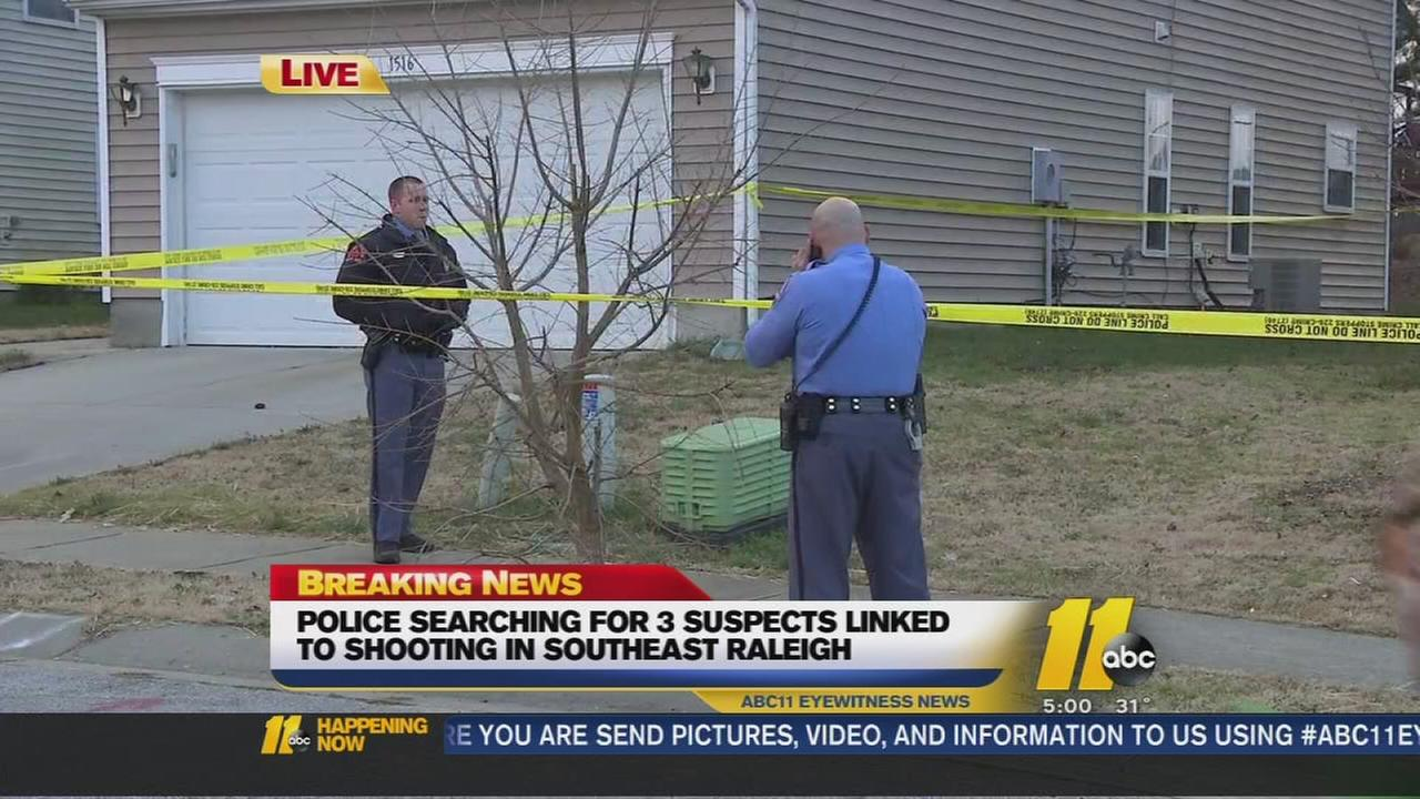 Police searching for shooter in Raleigh