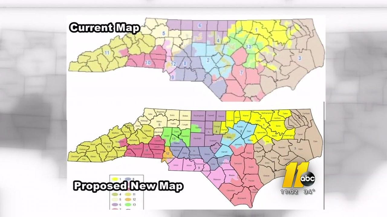 House Votes To Move NC Congressional Primary Date Abccom - Us nc congress district 9 current map