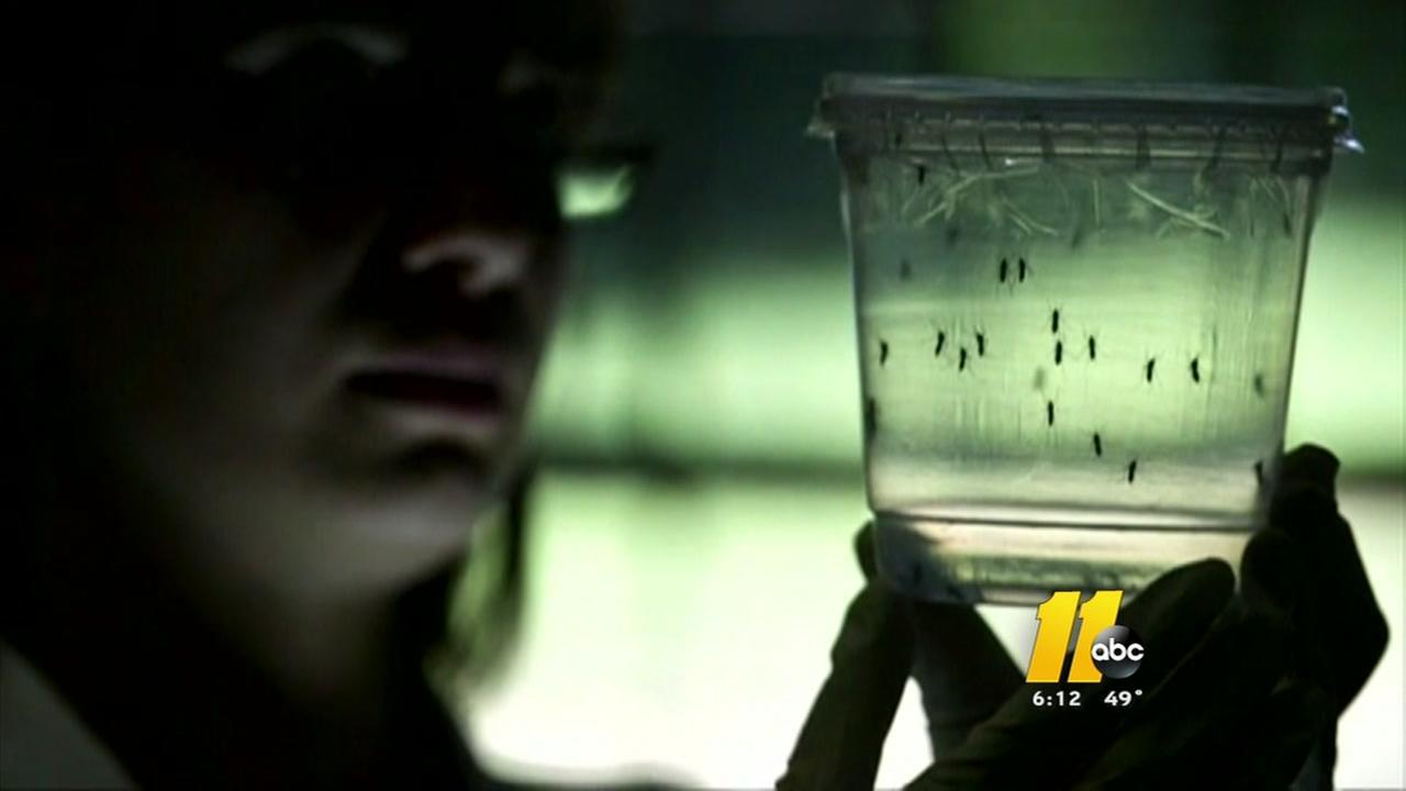 Zika case confirmed in NC
