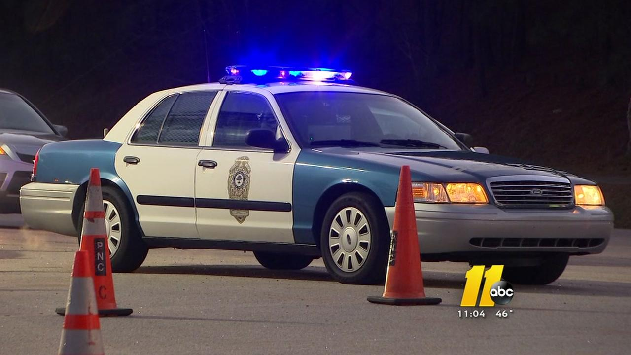 Raleigh police car