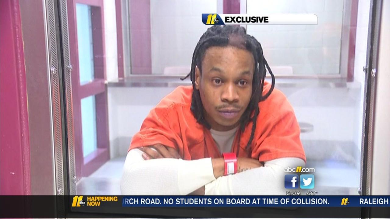 Exclusive: Suspect speaks