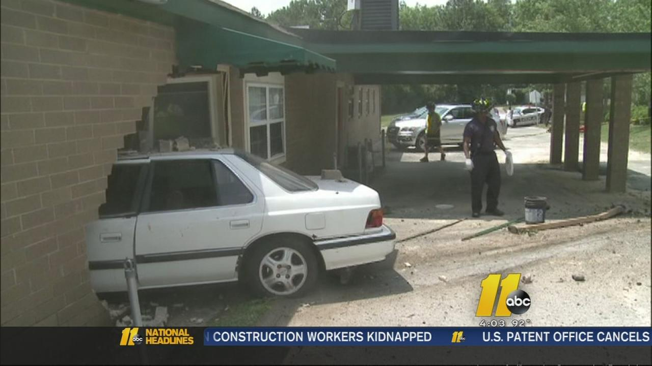 Car crashes into Durham child care center