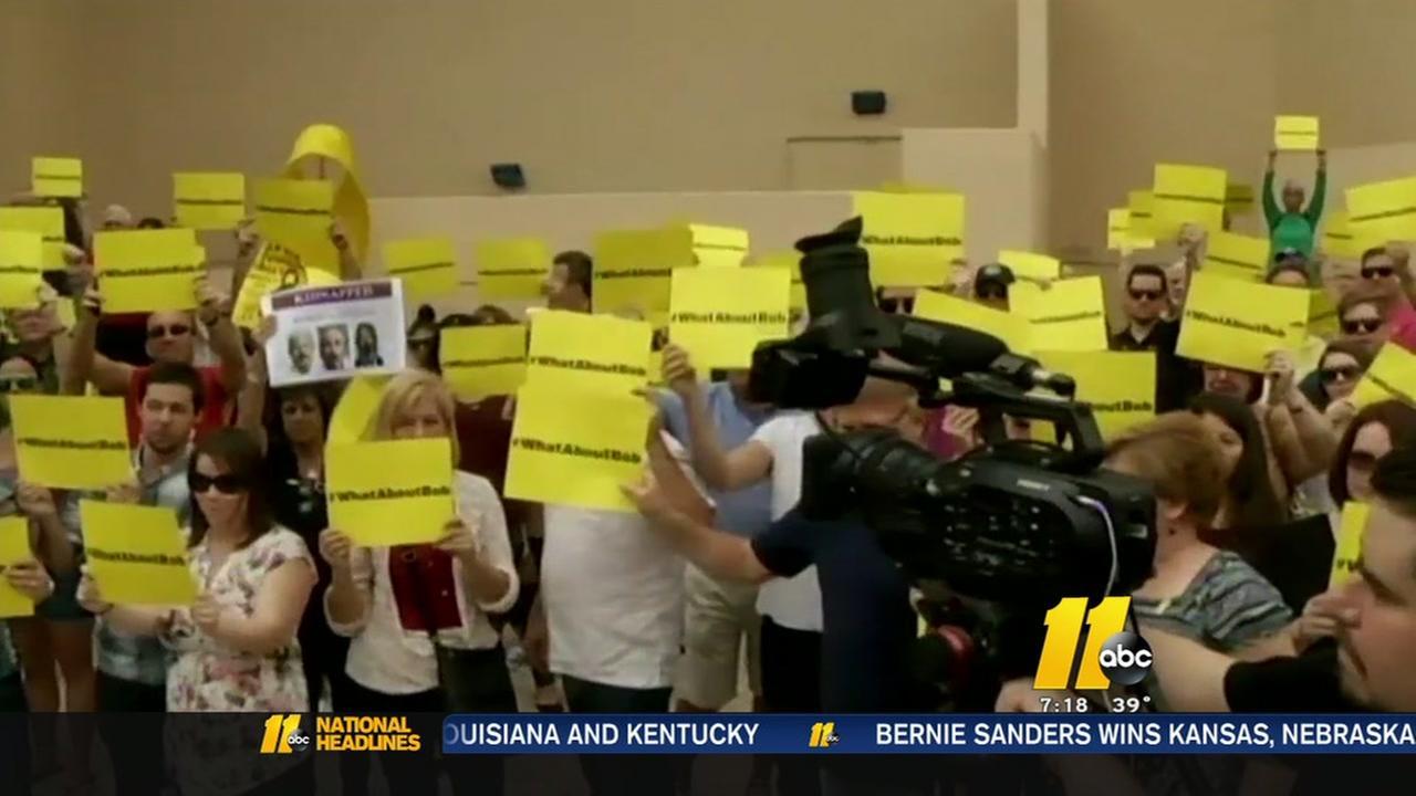 Protest for missing FBI agent