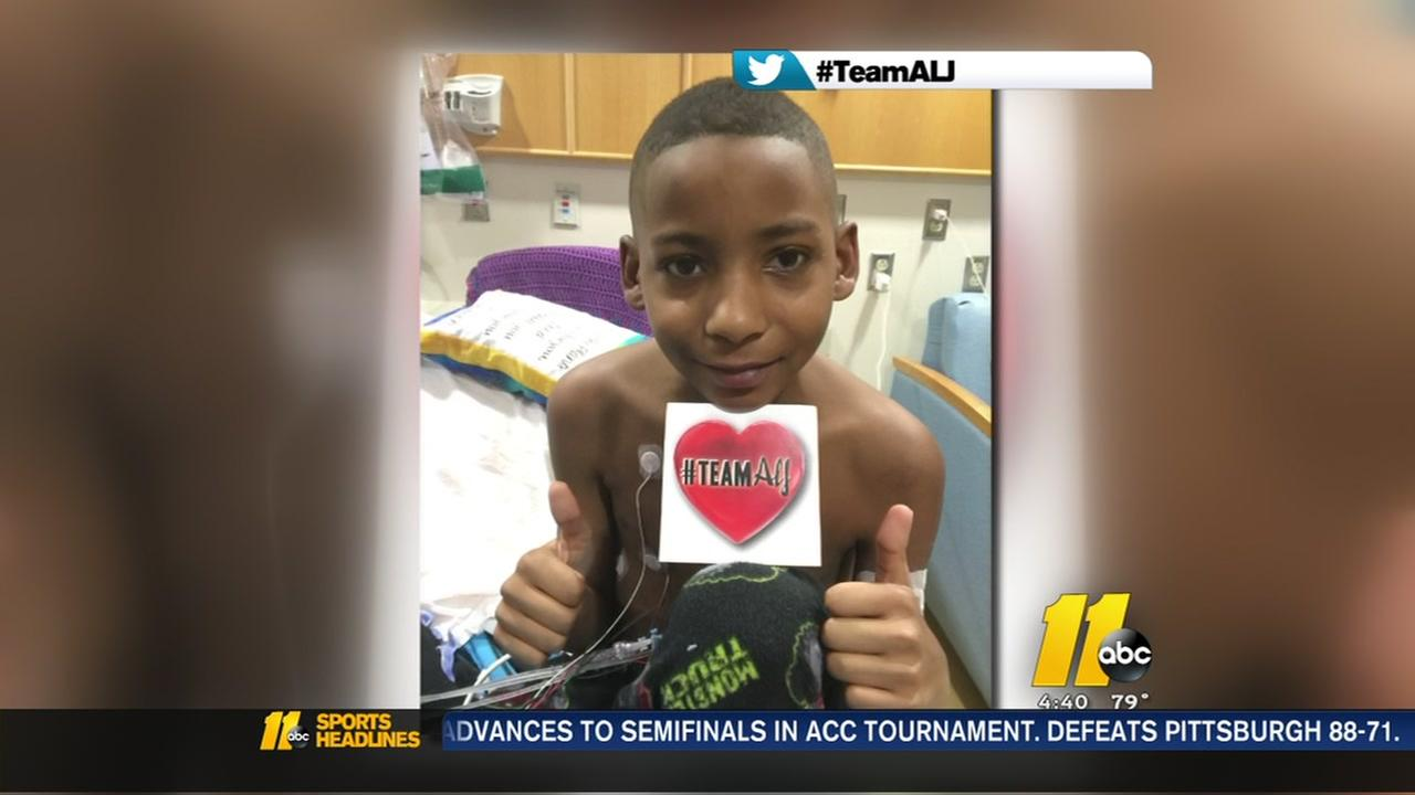 Teen gets heart transplant