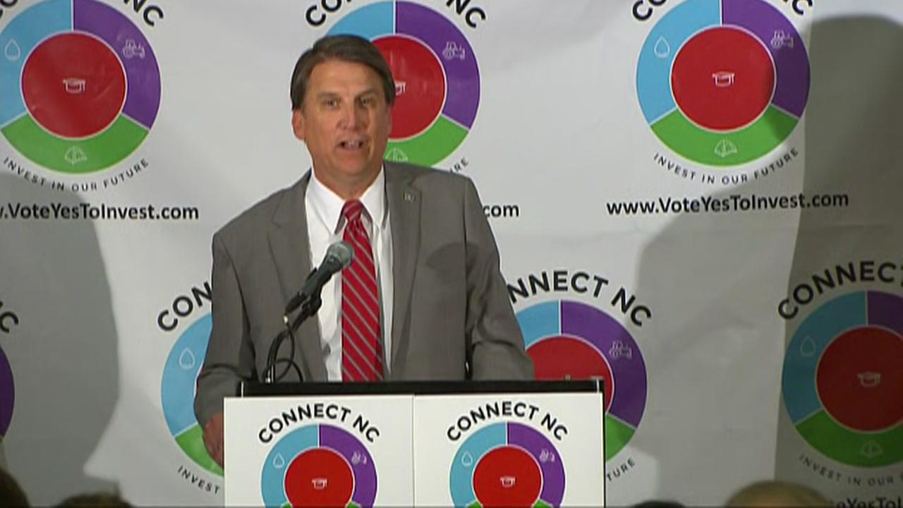 McCrory on NC Connect