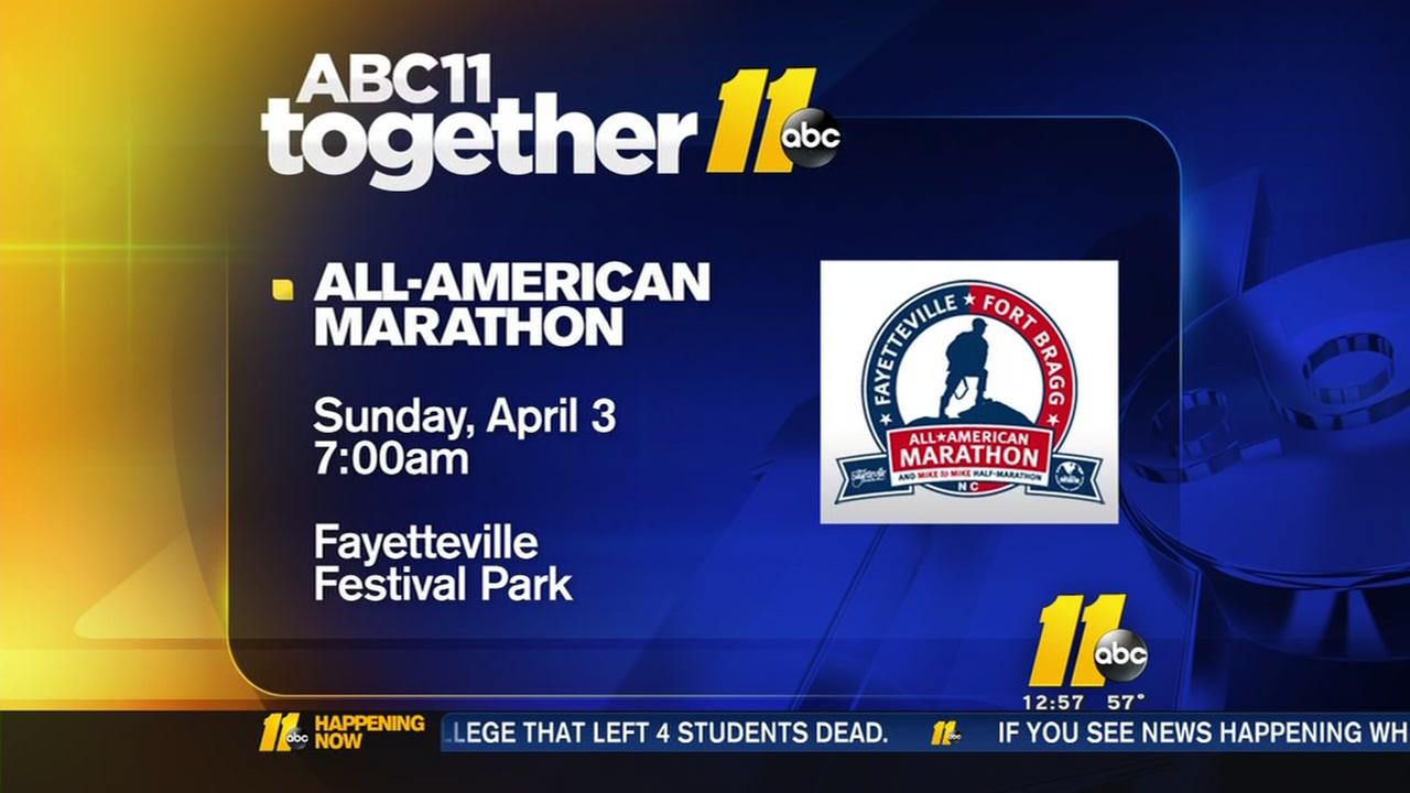 All-American Marathon coming soon to Fayetteville