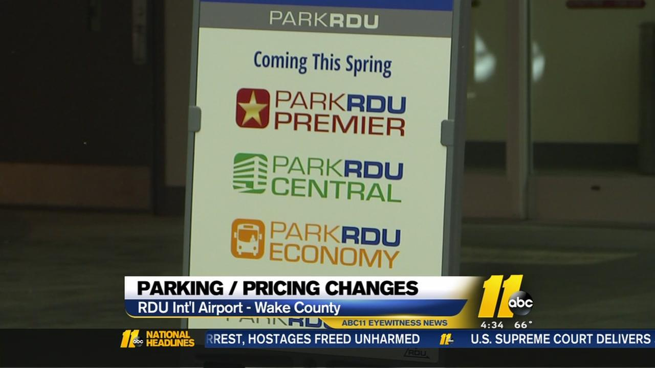 Parking changes coming to RDU
