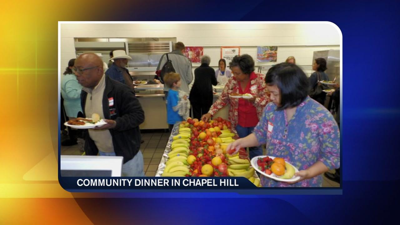 Chapel Hill celebrates diversity with community dinner