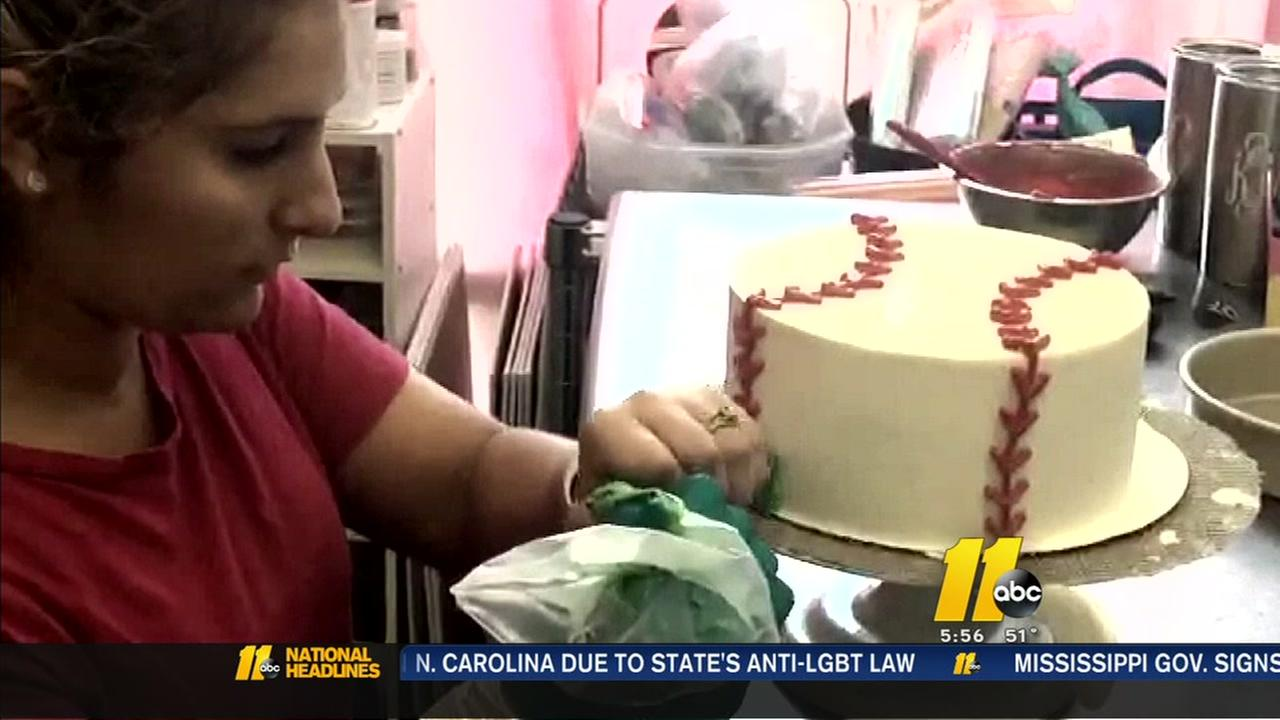 Local Cake Artist : Barbara Gibbs - Morning news anchor at ABC11 WTVD abc11.com