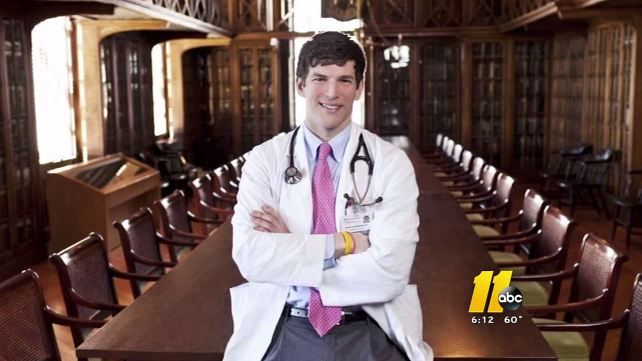 Doctor recognized at Raleigh school