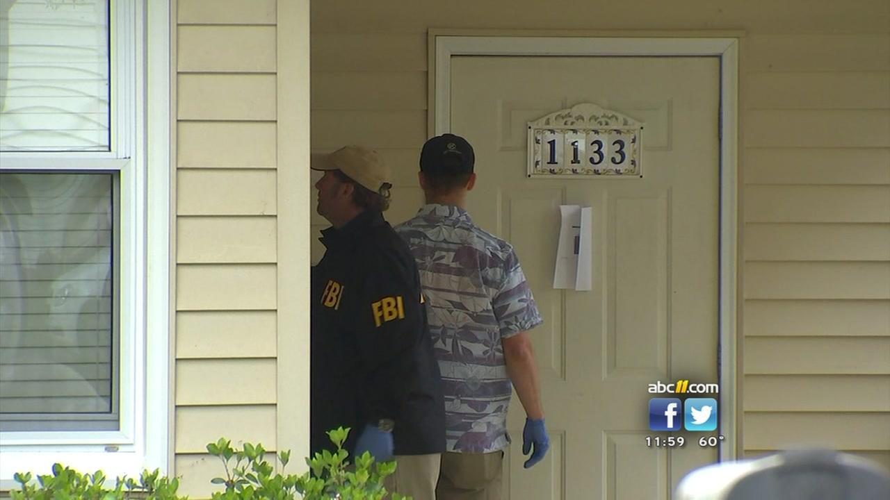 FBI raids Fayetteville home