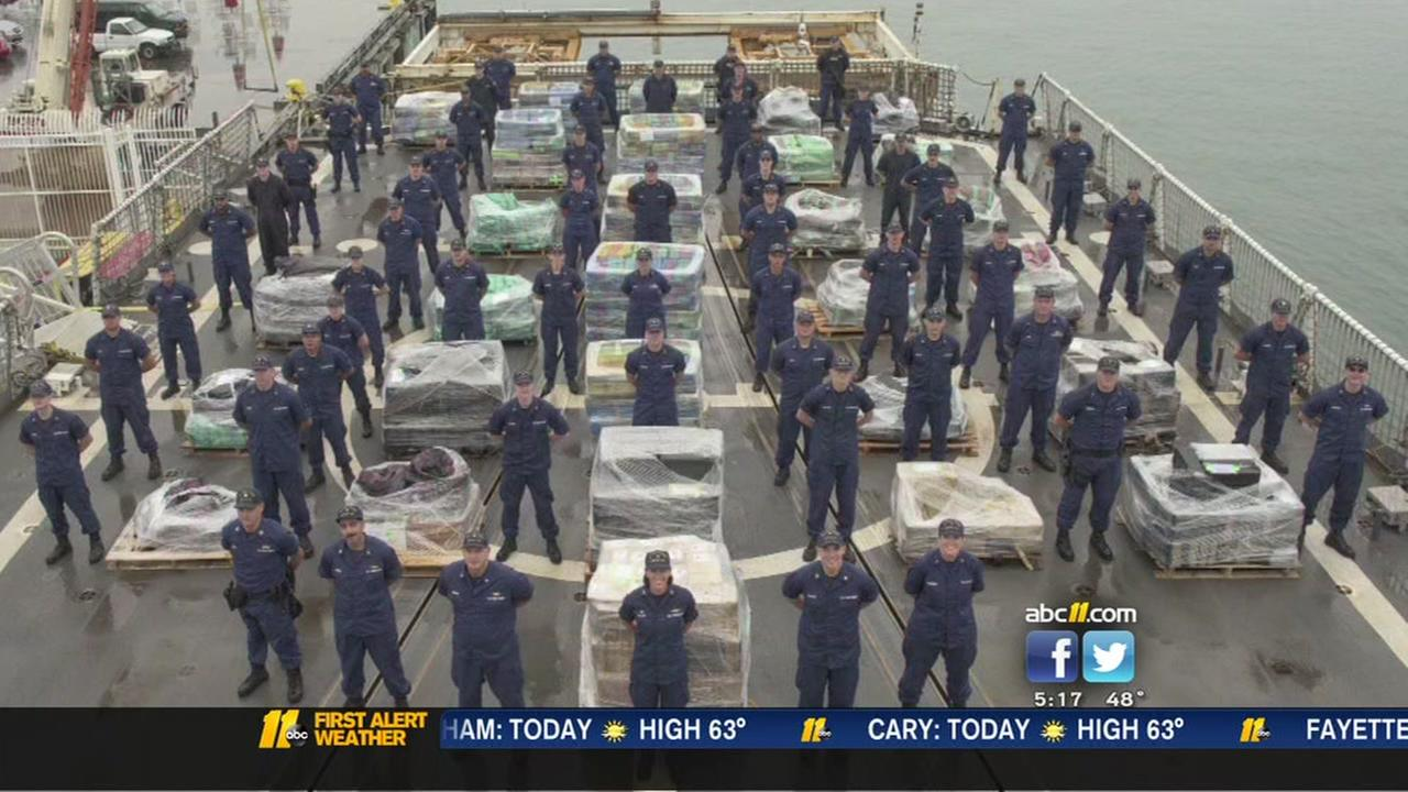 Coast Guard seizes 14 tons of cocaine