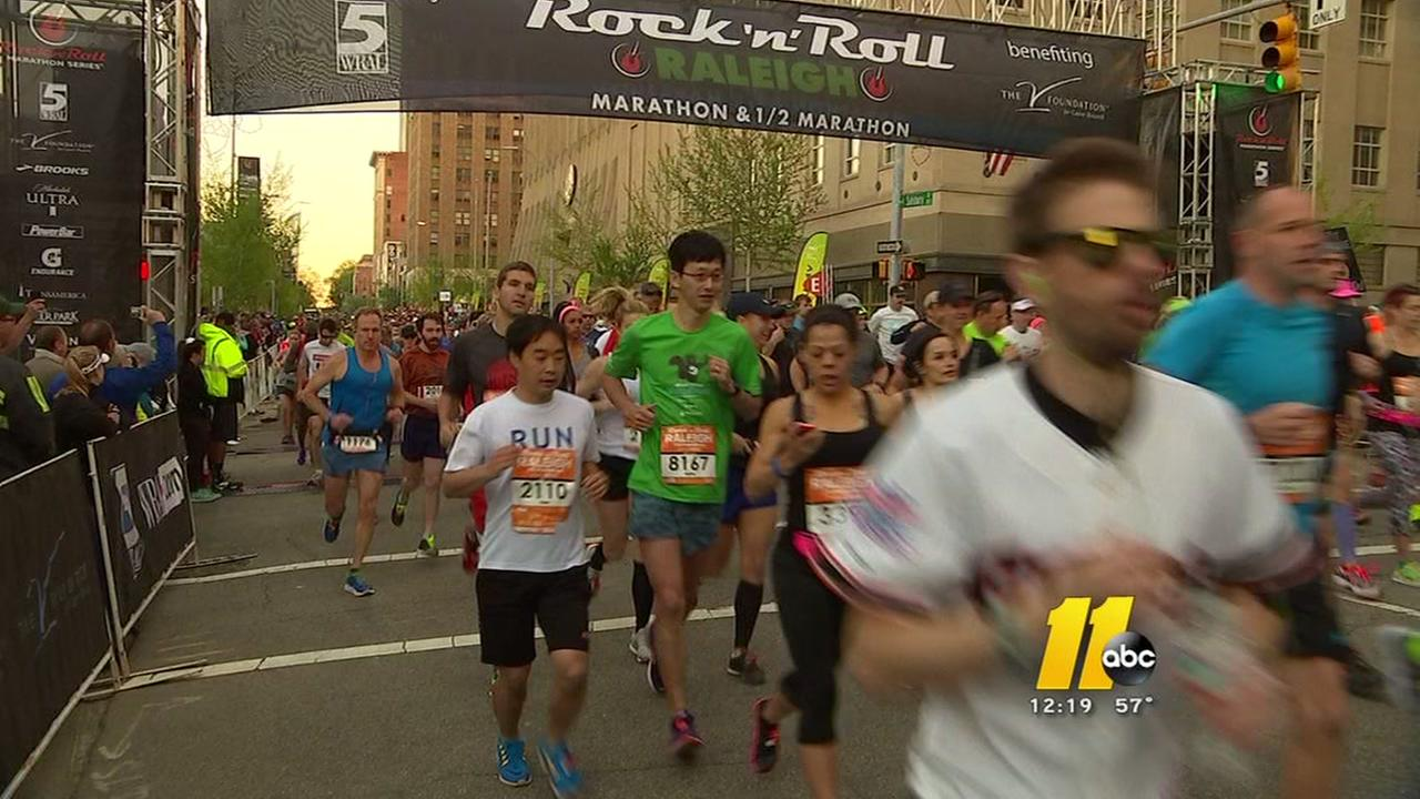 Raleigh marathon road closures