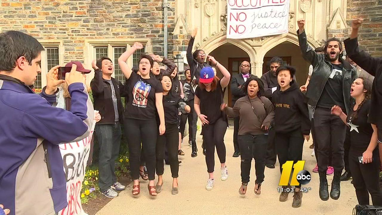 Duke sit-in ends