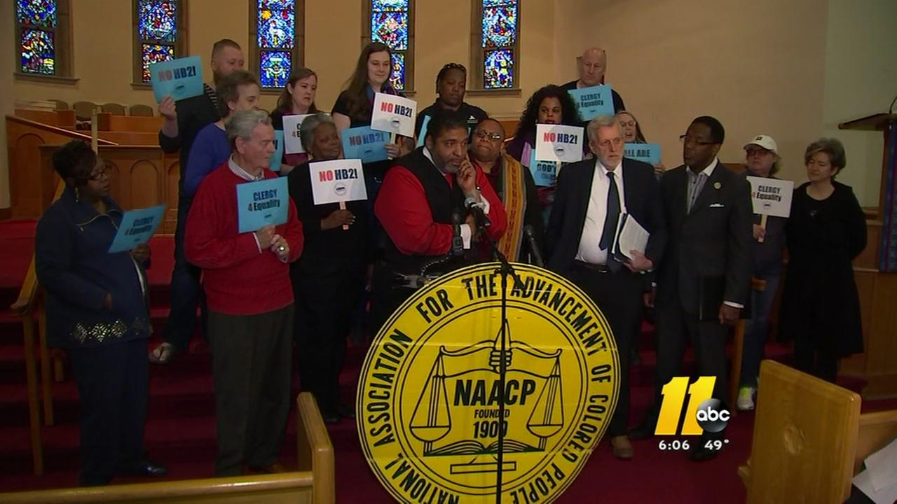 NAACP challenges Gov McCrory