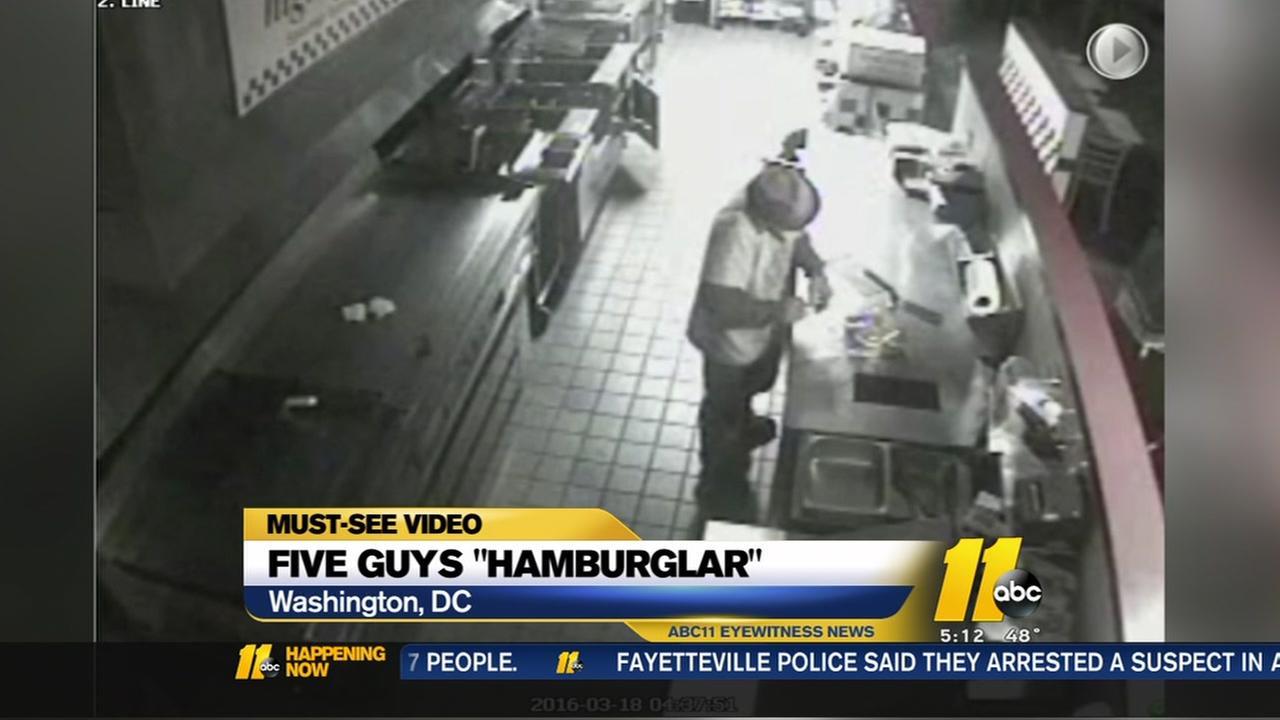 Five Guys Hamburglar