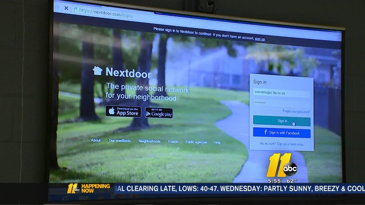 Fayetteville police new app