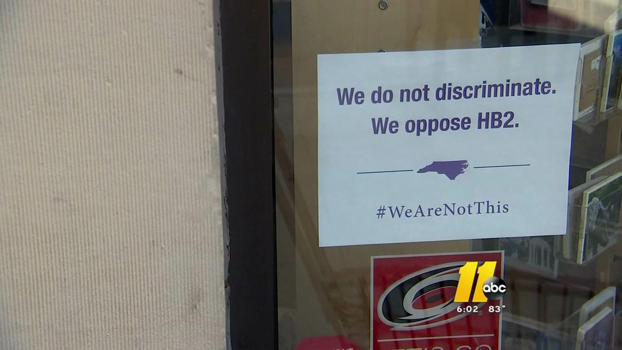 Raleigh owners afraid HB2 is hurting business
