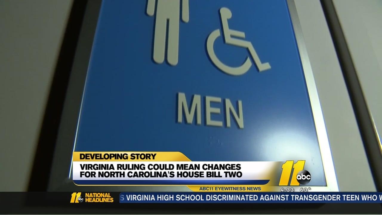 McCrory: Transgender bathroom ruling brings new dynamic to law