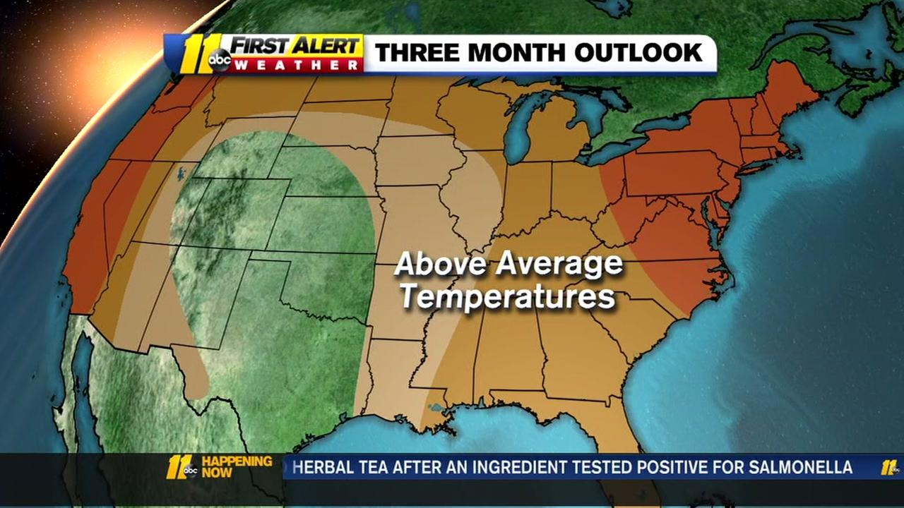 3 month weather outlook