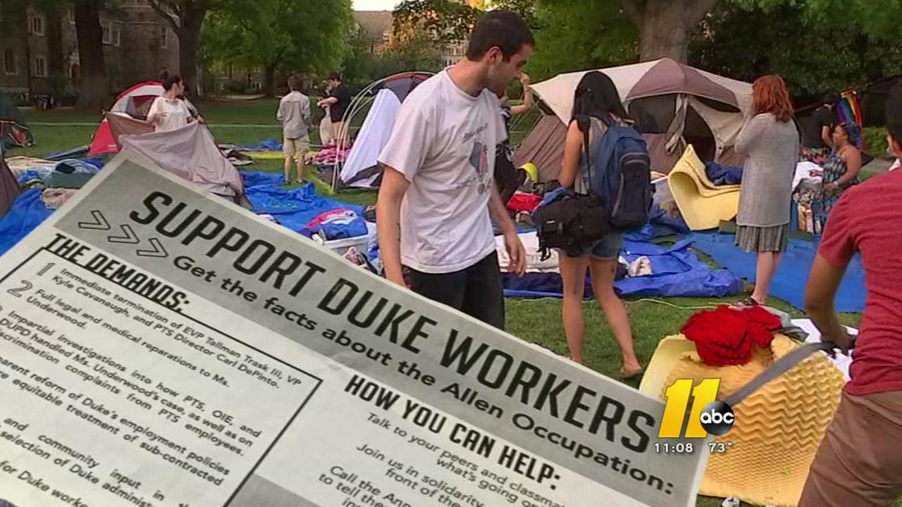 Duke protest