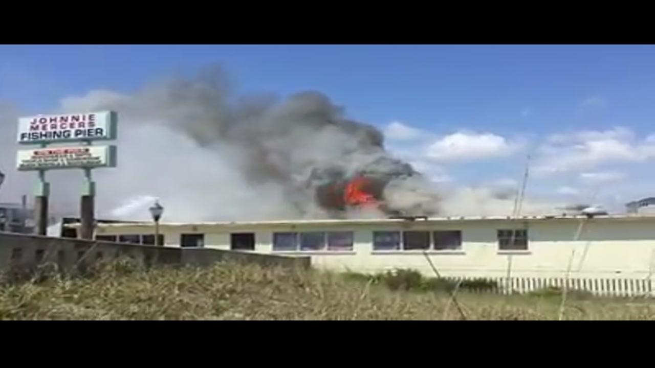 Wrightsville Beach fire