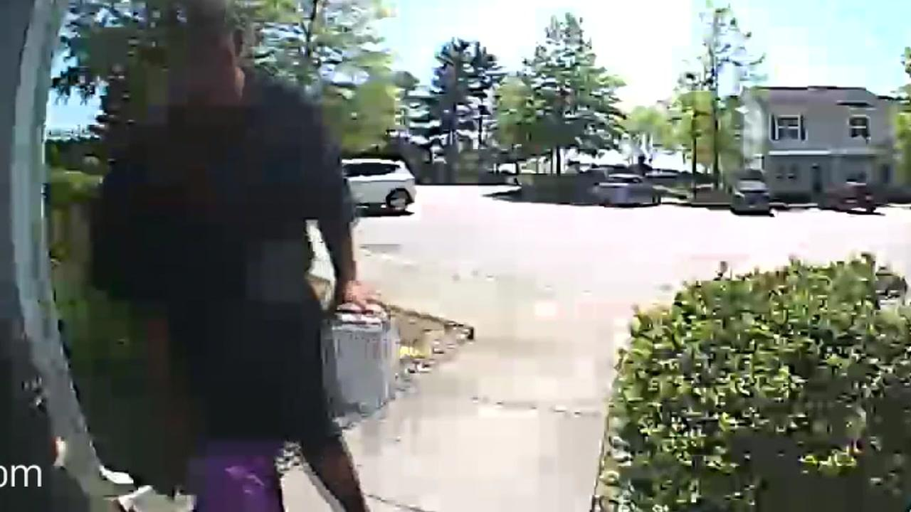 Package thief in Durham caught on camera