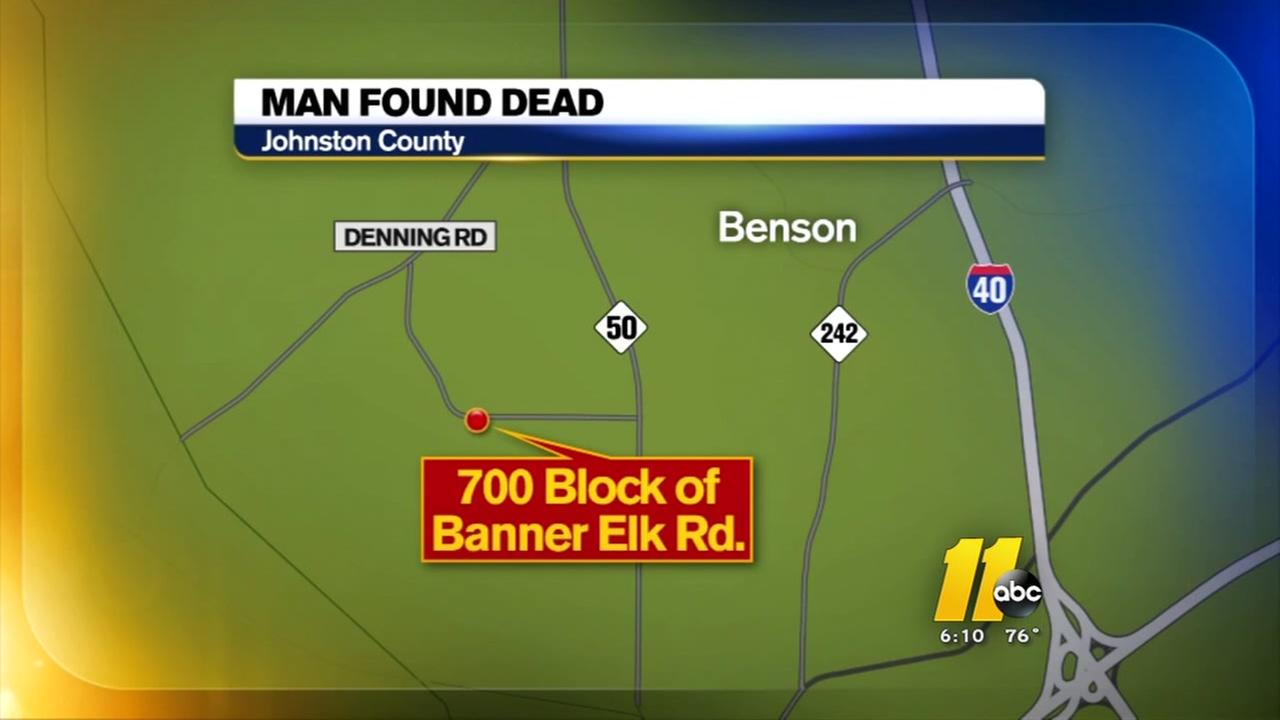 Man found dead in Benson creek
