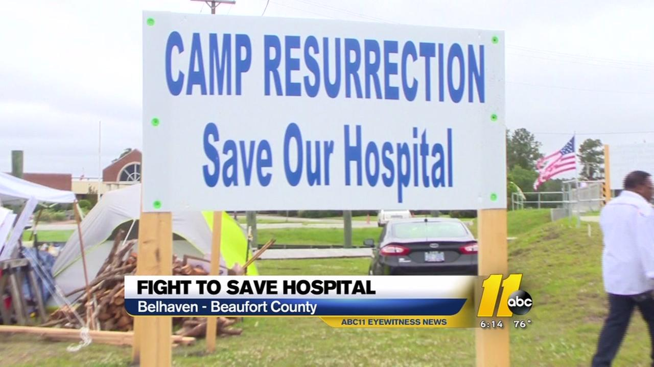 Fight to save Belhaven hospital