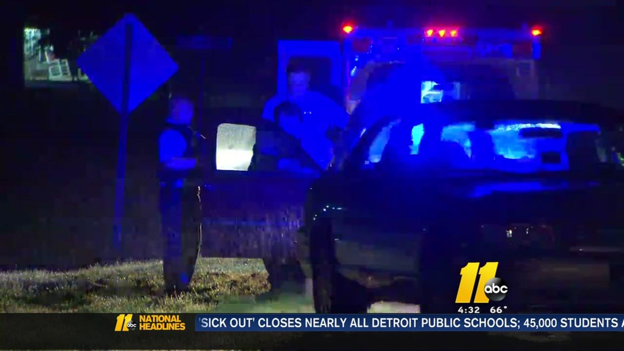 Deputy hurt when shots fired in Wake County