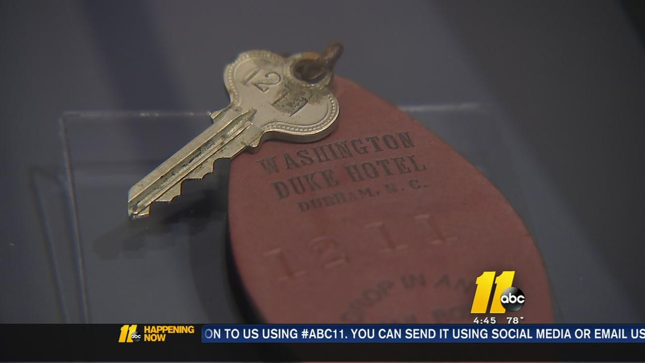 Time capsule opened at Washington Duke Inn
