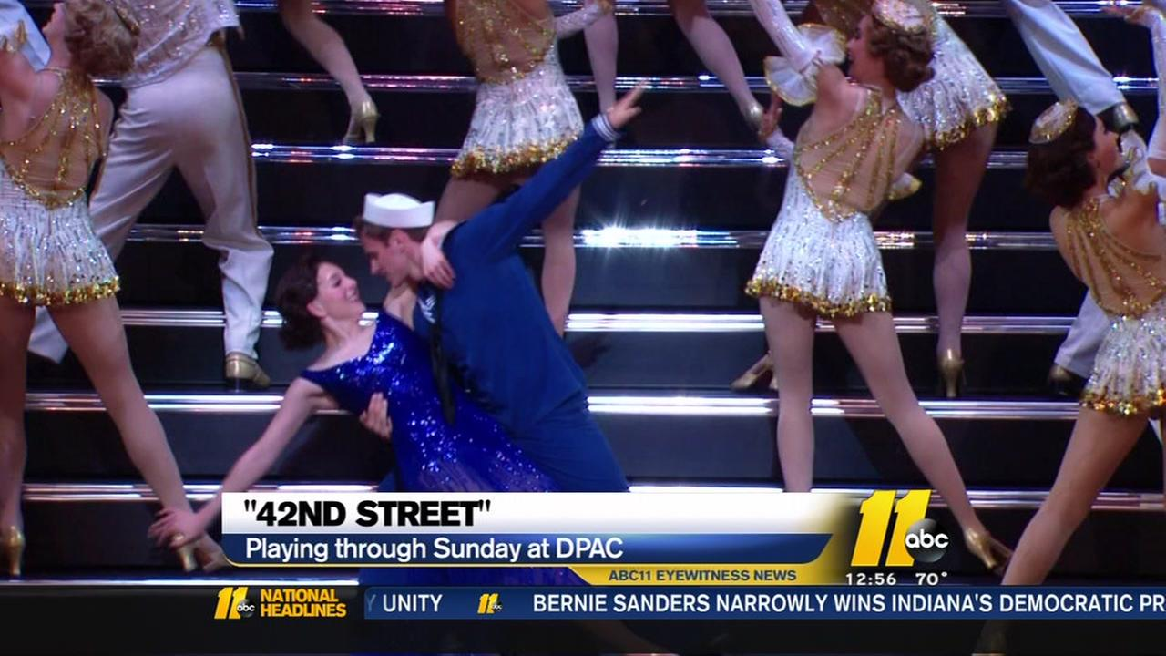 42nd Street opens at DPAC